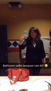 The night I turned 40