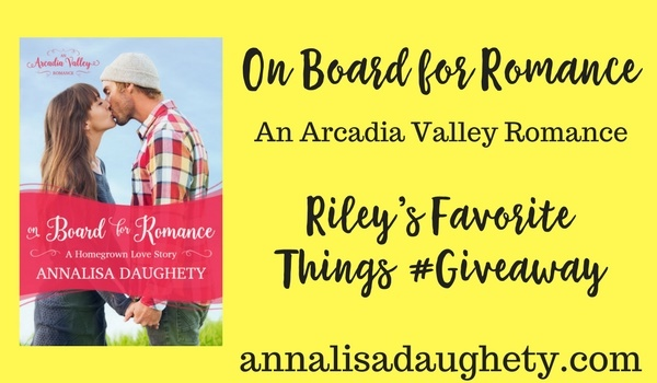 Riley's Favorite Things Giveaway